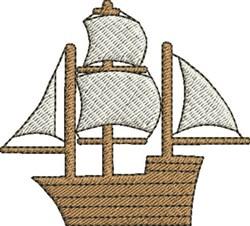 Sailing Ship embroidery design