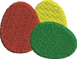 Three Eggs embroidery design