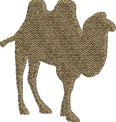 Two Hump Camel embroidery design