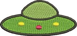 UFO embroidery design