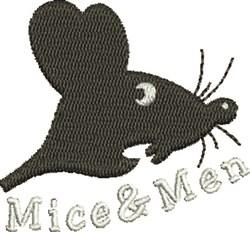 Mice & Men embroidery design
