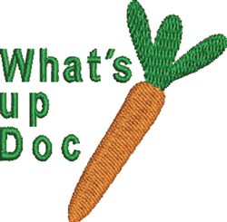 Whats up Doc embroidery design