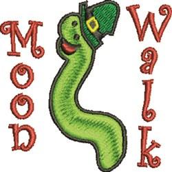 Moon Walk embroidery design
