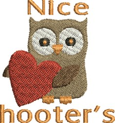 Nice Hooters embroidery design