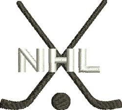 NHL Hockey embroidery design