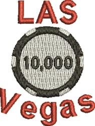 Las Vegas embroidery design