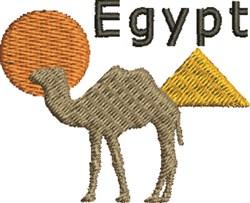 Egypt Scene embroidery design