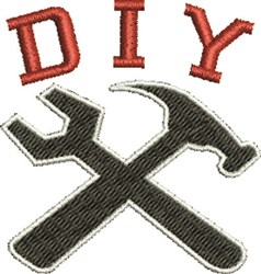 Do It Yourself embroidery design