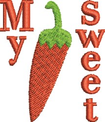 My Sweet Pepper embroidery design