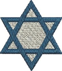 Small Jewish Star embroidery design