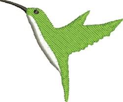 Green Hummingbird embroidery design