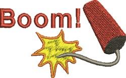 Firecracker Boom embroidery design