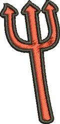 Devils Fork embroidery design
