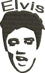 Elvis embroidery design