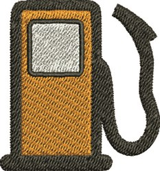 Gas Pump embroidery design
