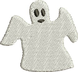 Halloween Ghost embroidery design