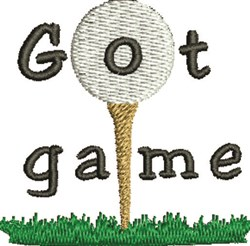 Got Game embroidery design
