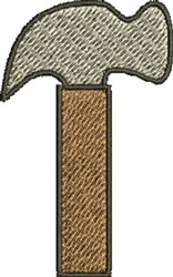 Hammer Shape embroidery design