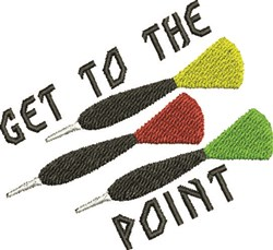 To The Point embroidery design