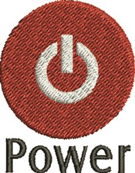 Power Switch embroidery design