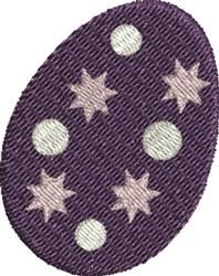 Purple Egg embroidery design