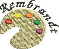 Rembrat embroidery design