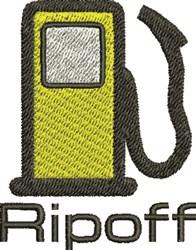 Ripoff embroidery design