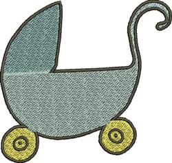 Baby Stroller embroidery design