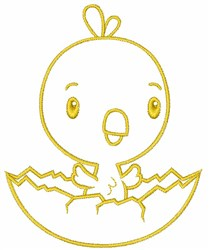 Baby Chick embroidery design