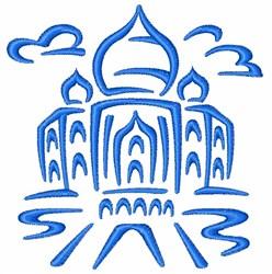 Taj Mahal embroidery design