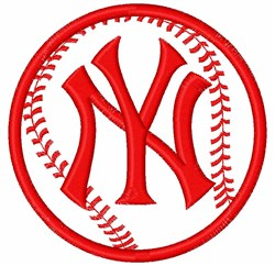 New York Yankees embroidery design