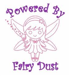 Fairy Dust Power embroidery design