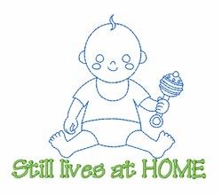 Baby Boy Home embroidery design