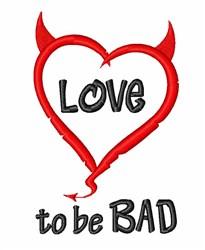 Little Devil Heart embroidery design
