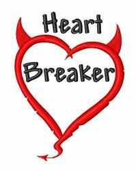 Devil Heart Breaker embroidery design