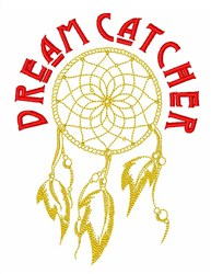 Dreamcatcher embroidery design