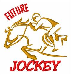 Future Jockey embroidery design