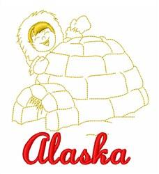 Alaskan Eskimo embroidery design
