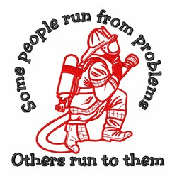 Support Our Firefighters embroidery design