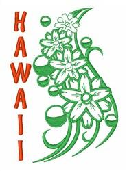 Hawaiian Hibiscus embroidery design