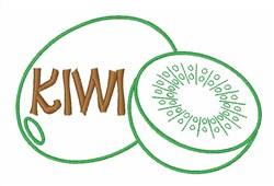 Kiwi Fruit embroidery design