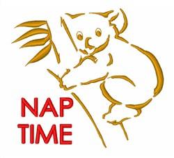 Nap Time Koala embroidery design