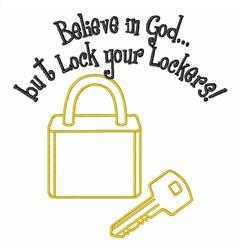 Locksmith Key Lock embroidery design