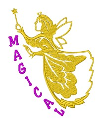 Magical Fairy Princess embroidery design