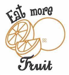 Orange Fruit Food embroidery design
