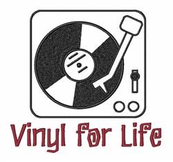 Vinyl Record  embroidery design