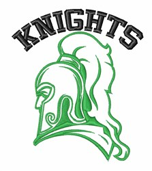 Knights Sir Lancelot Crusaders embroidery design