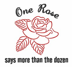 Roses For My Sweet embroidery design