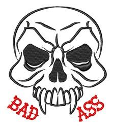 Bad Ass Biker embroidery design