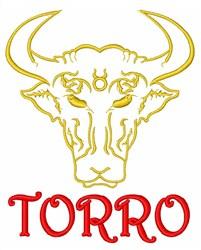 Bulls Espana Torro embroidery design